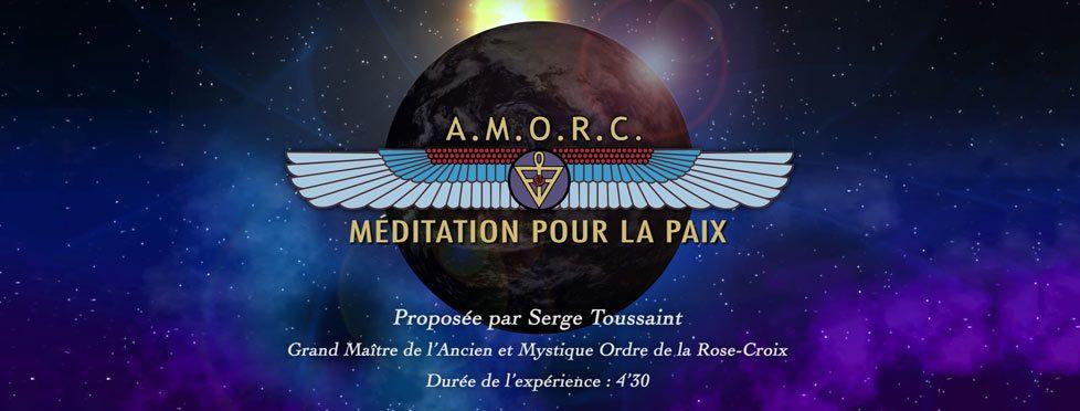 Méditation rosicrucienne pour la paix