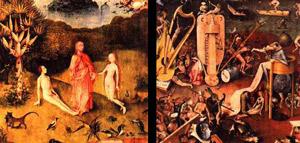 Le Paradis et l'Enfer par Jérôme Bosch (Extrait)