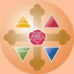 La Rose-Croix et les quatre éléments