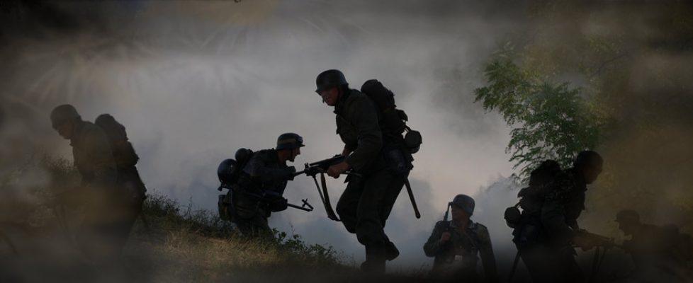 guerre soldats