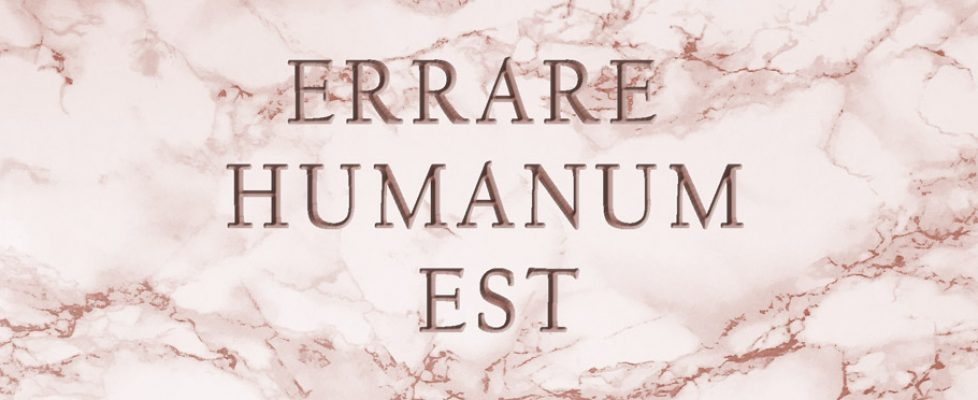 erreur humaine latin