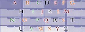 alphabeth-dossiers