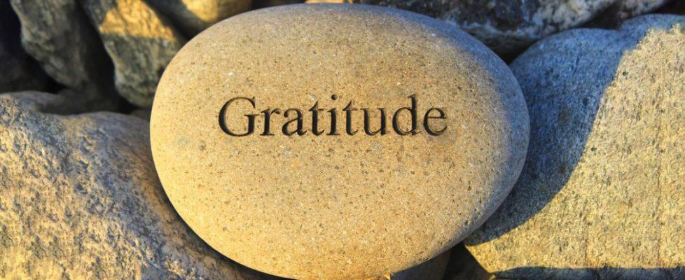 A propos de la gratitude