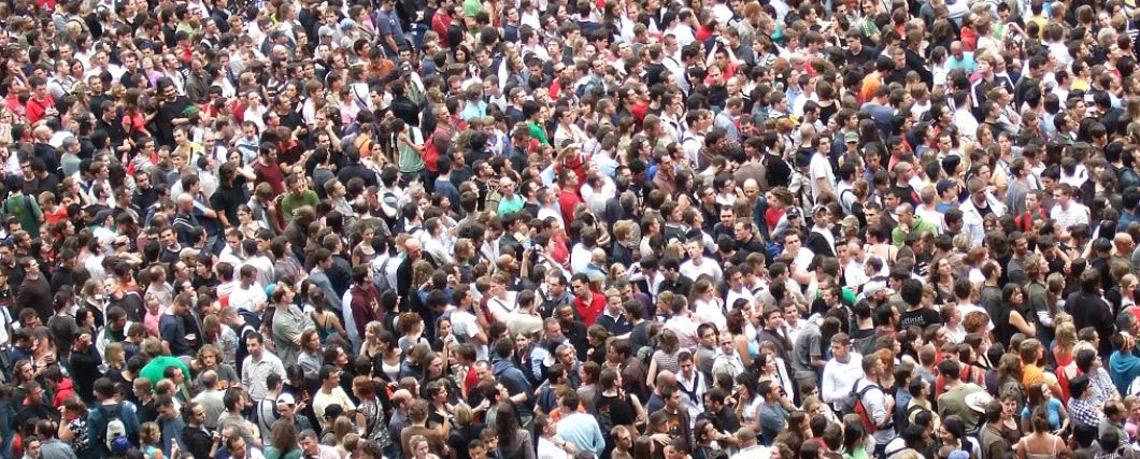 À propos de la foule