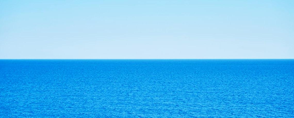 Mer bleu azur